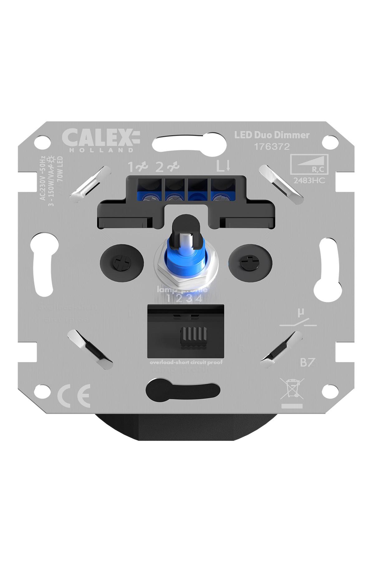 Dimmer for LED Flush Mounting