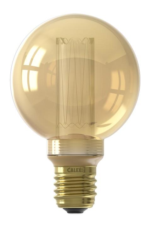 Globe G80 led lamp 3,5W 100lm 1800K Dimbaar