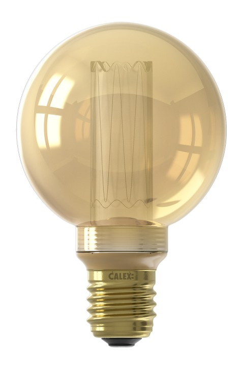 Globe G80 LED lamp 3,5W 100lm 1800K Dimmable