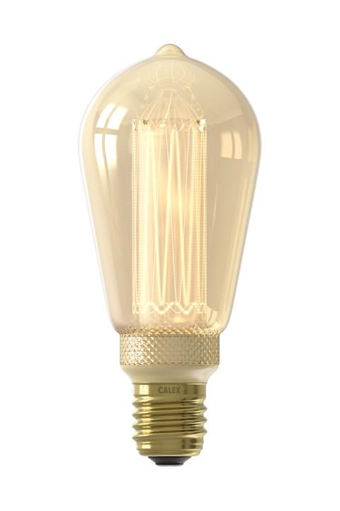 Rustiek led lamp 3,5W 100lm 1800K Dimbaar