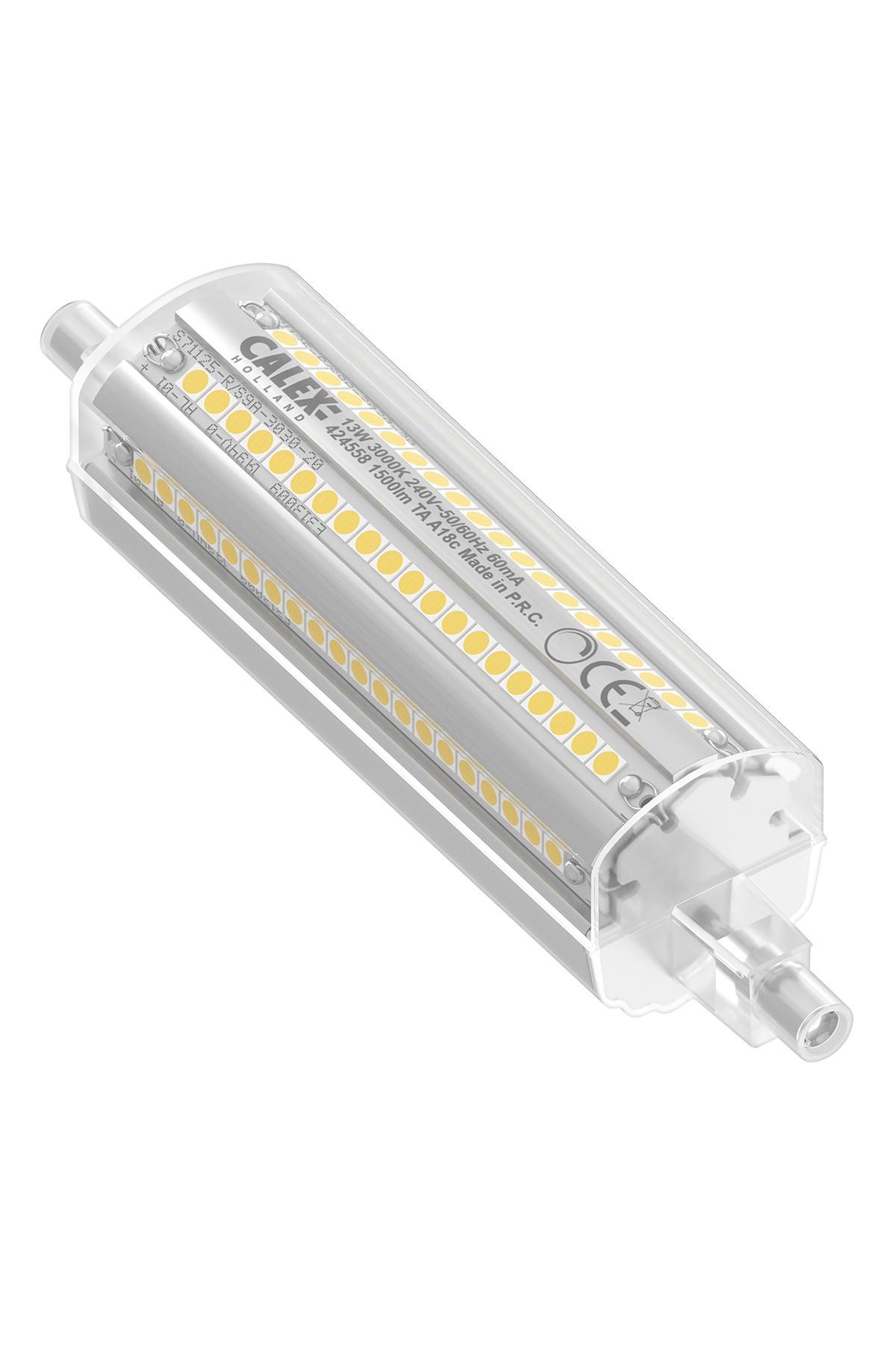 Calex LED lamp R7s 240V 13W 1500lm, 3000K dimbaar