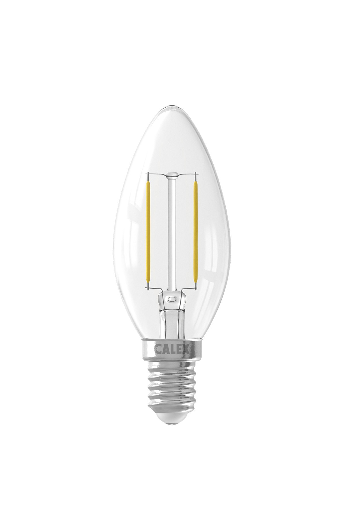 LED filament kaarslamp 240V 2,0W