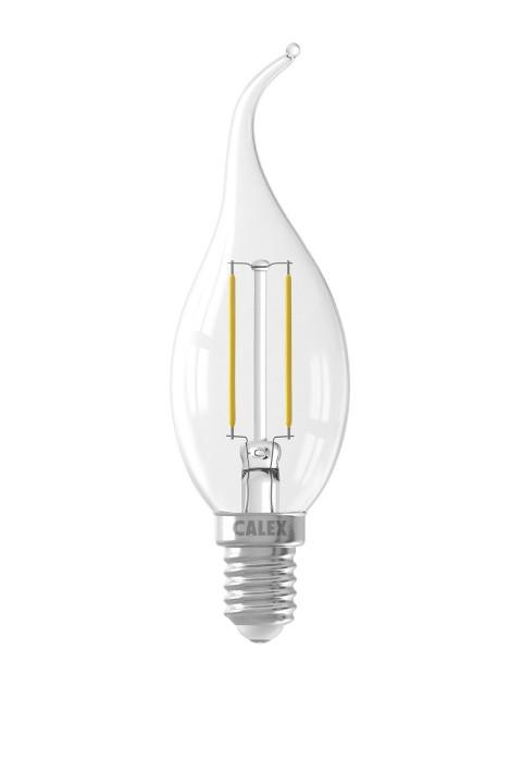 LED filament tipkaarslamp 240V 2,0W