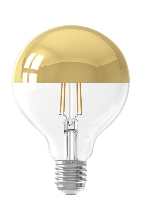 LED filament globekopspiegellamp dimbaar 240V 4,0W