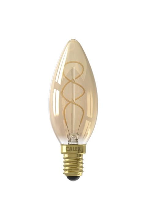 Kaars led lamp 4W 150lm 2100K Dimbaar