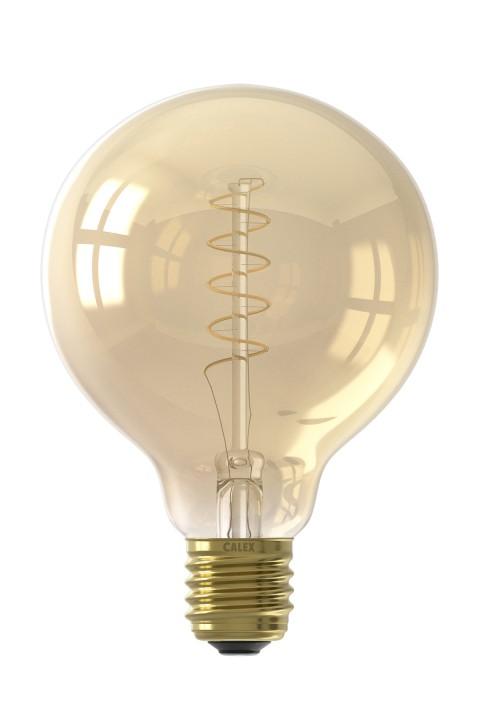 Globe G95 led lamp 4W 200lm 2100K Dimbaar