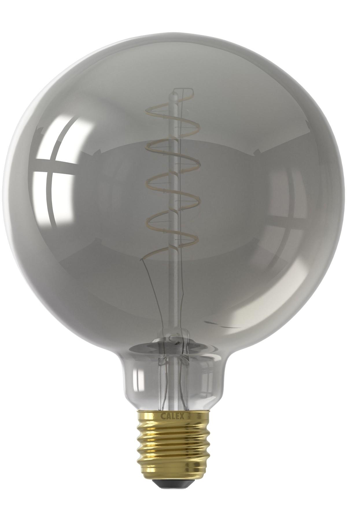 Flex Filament Titanium Globe LED Lamp