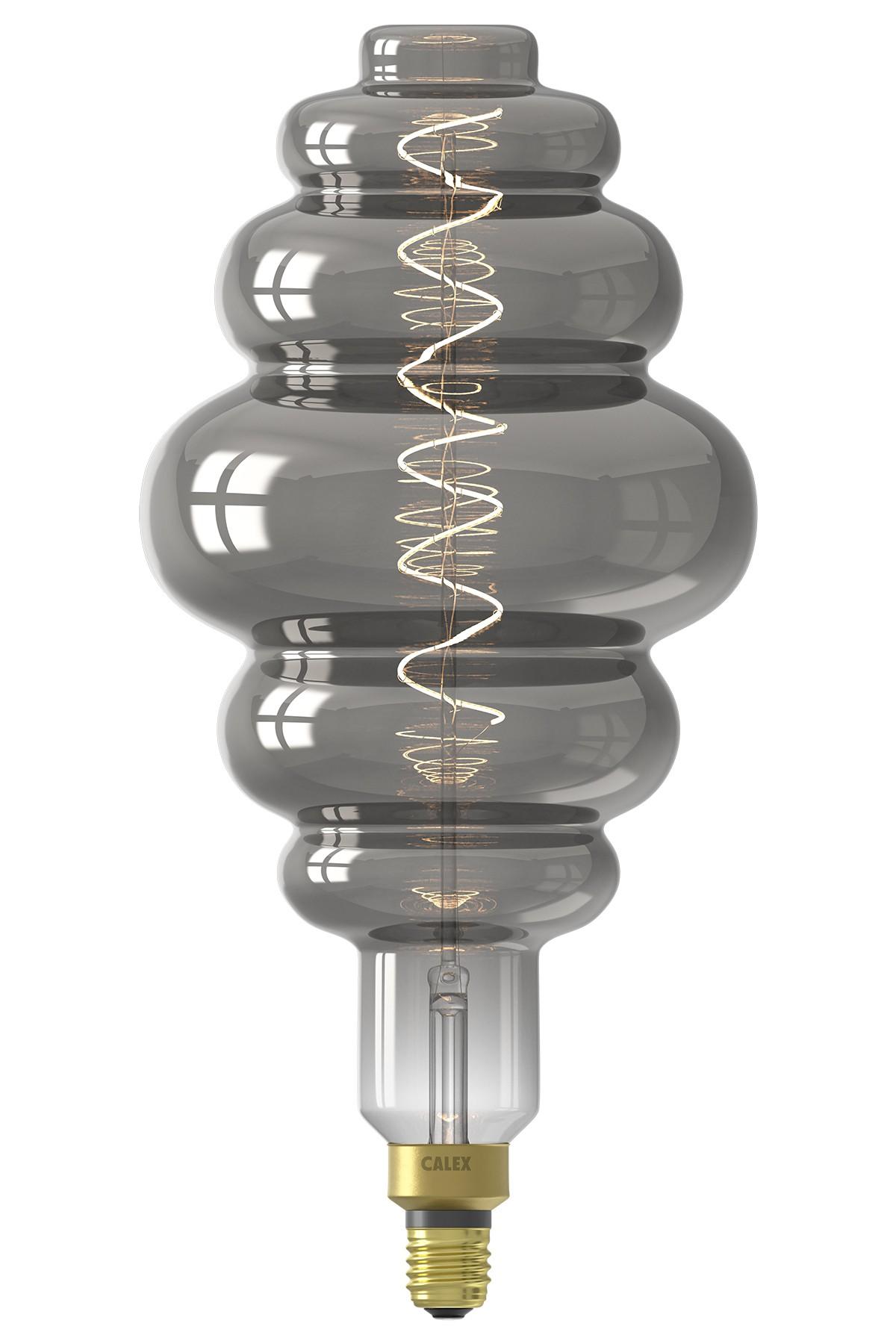Paris Titanium led lamp 6W 100lm 2200K Dimbaar