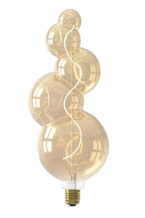 Alicante Gold led lamp 4W 130lm 2100K Dimbaar