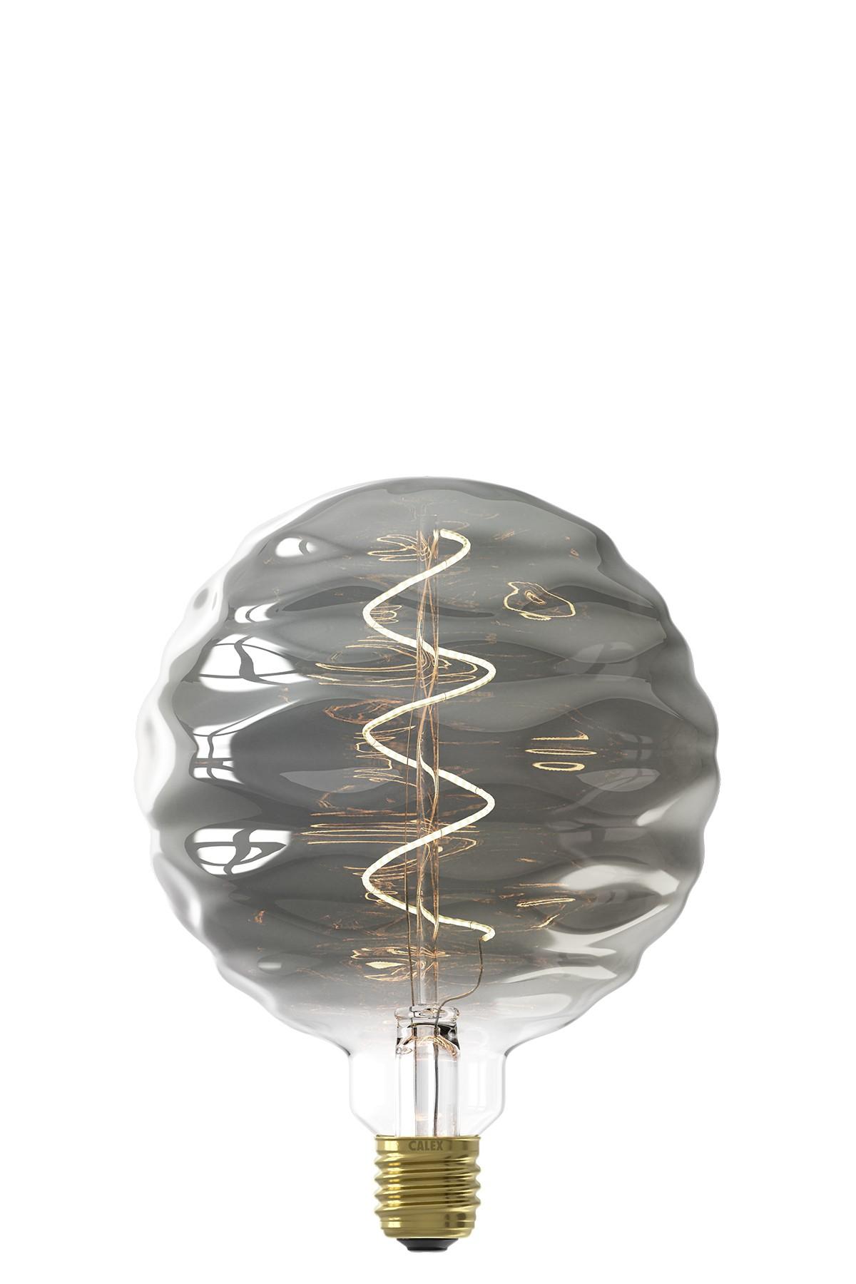 Bilbao Titanium led lamp 4W 60lm 2100K Dimbaar