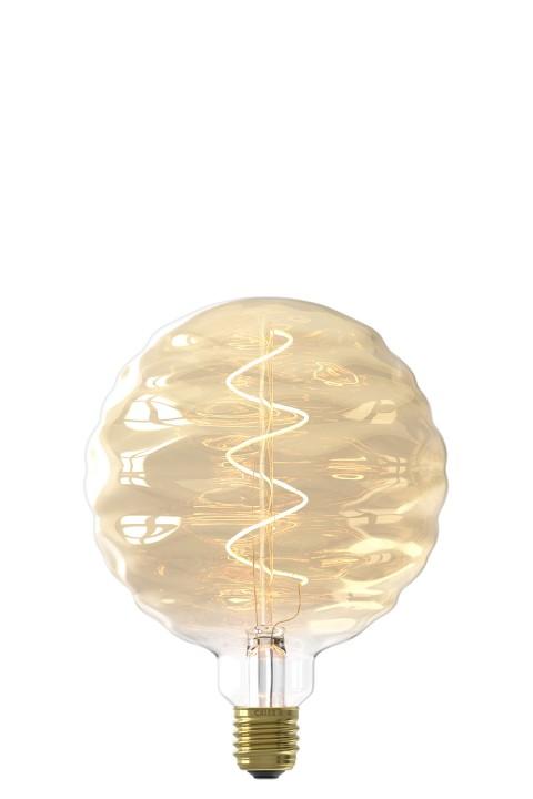 Bilbao Gold led lamp 4W 140lm 2100K Dimbaar
