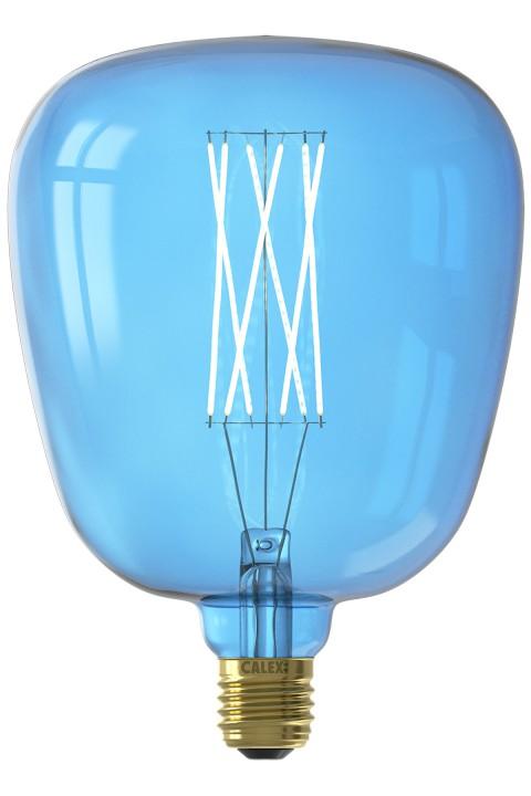 Kiruna Sapphire Blue led lamp 4W 150lm 2700K Dimbaar