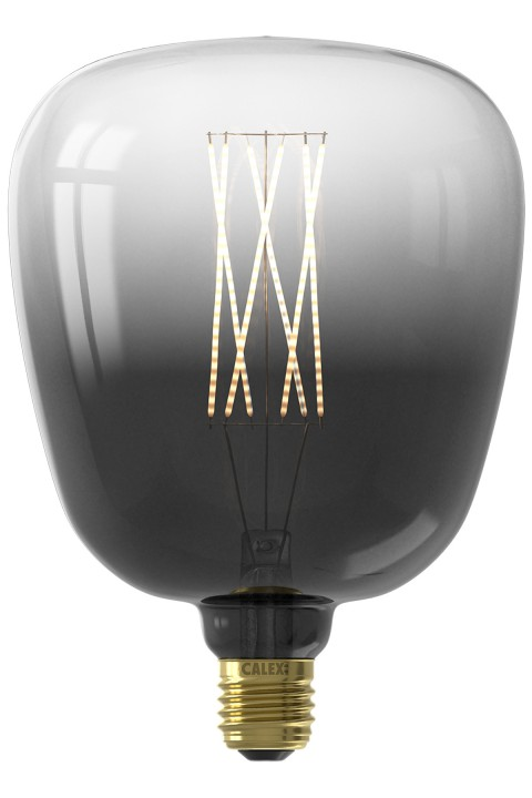 Kiruna Moonstone Black led lamp 4W 150lm 2200K Dimbaar