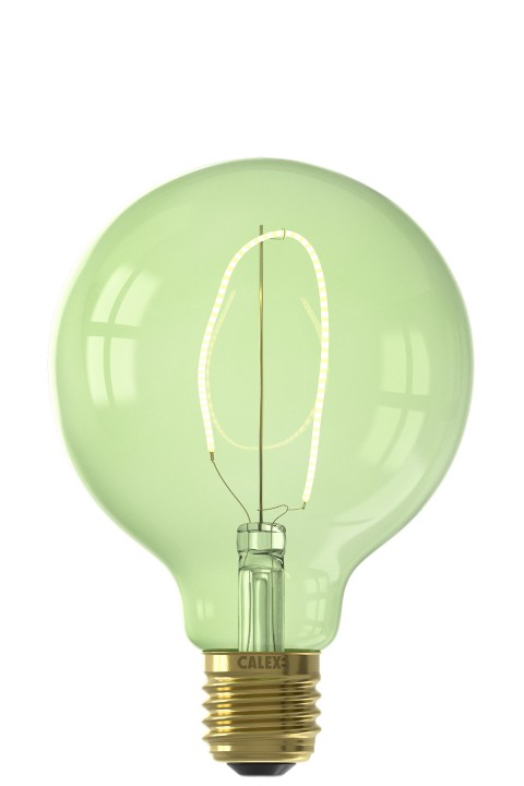 Nora G95 Emerald Green led lamp 4W 130lm 2200K Dimmable