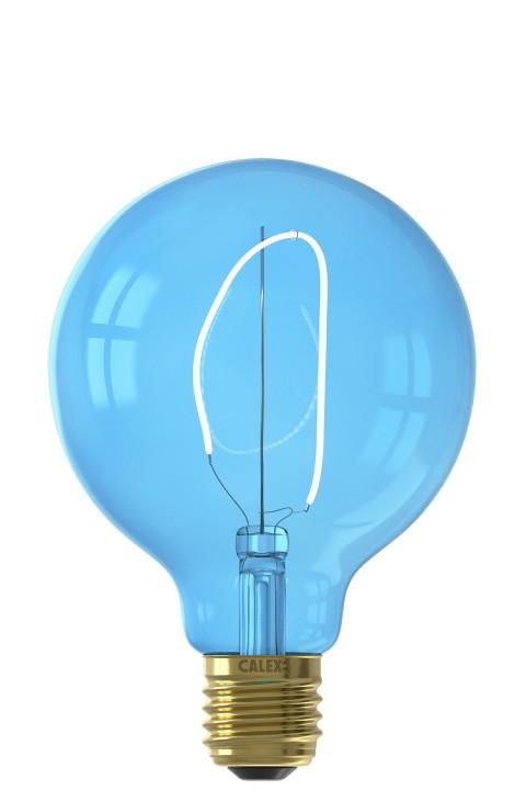 Nora G95 Sapphire Blue led lamp 4W 80lm 2700K Dimbaar