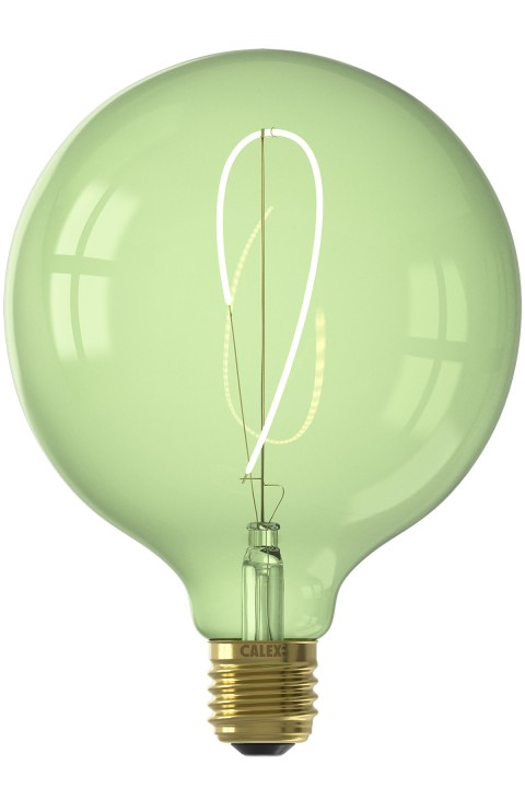 Nora G125 Emerald Green led lamp 4W 130lm 2200K Dimbaar