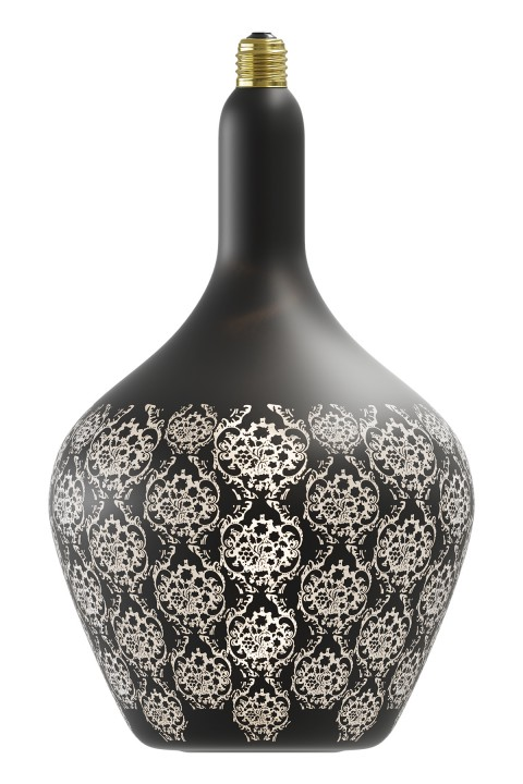 Versailles Noir Baroque led lamp 5W 30lm 1800K Dimbaar