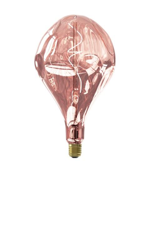 Organic Evo Rose led lamp 6W 80lm 1800K dimbaar