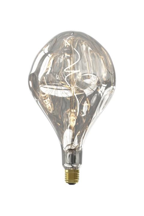 Organic Evo Silver Led lamp 6W 160lm 1800K Dimbaar
