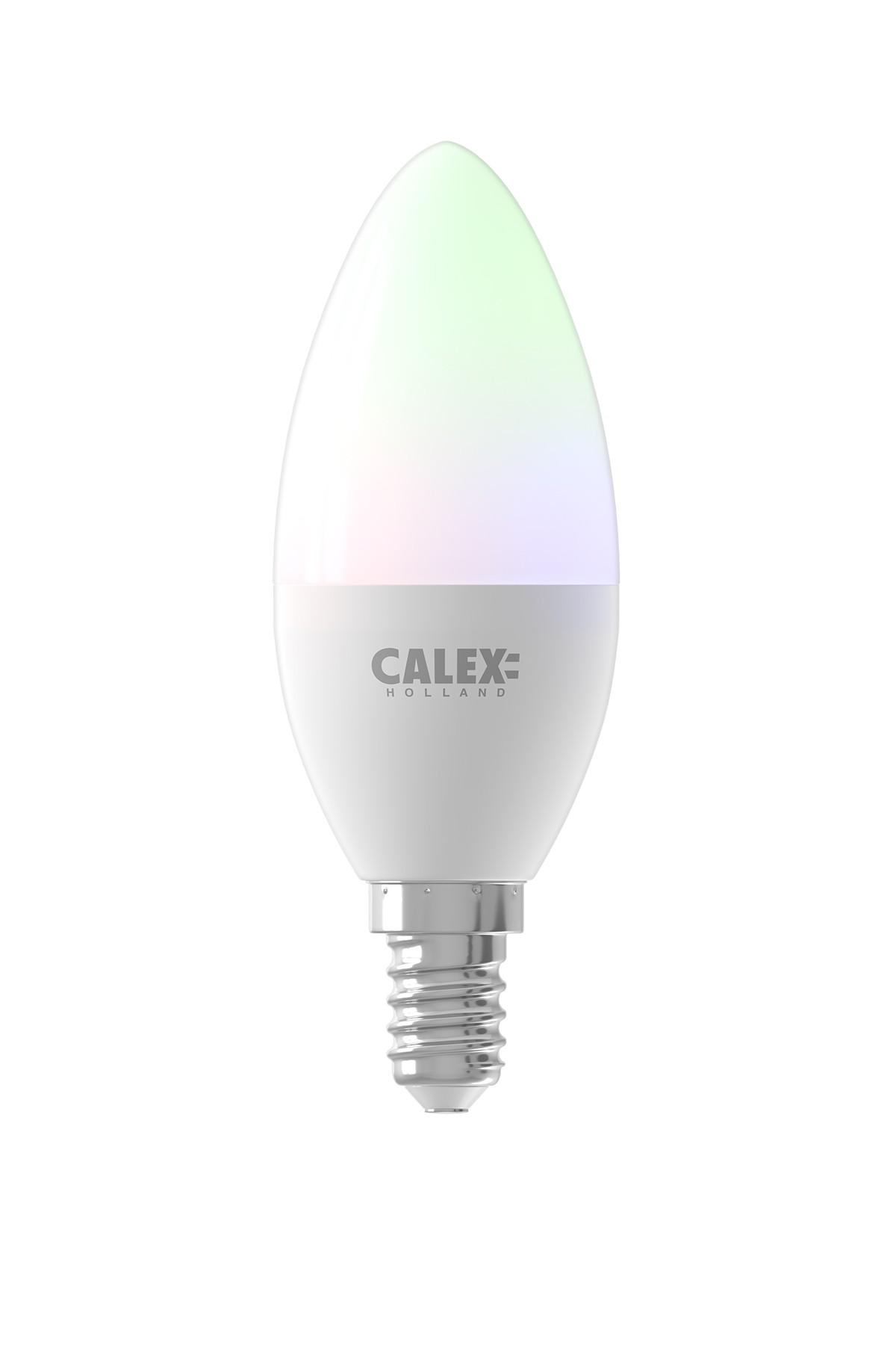 Calex Smart RGB Candle LED lamp 5W 470lm 2200-4000K