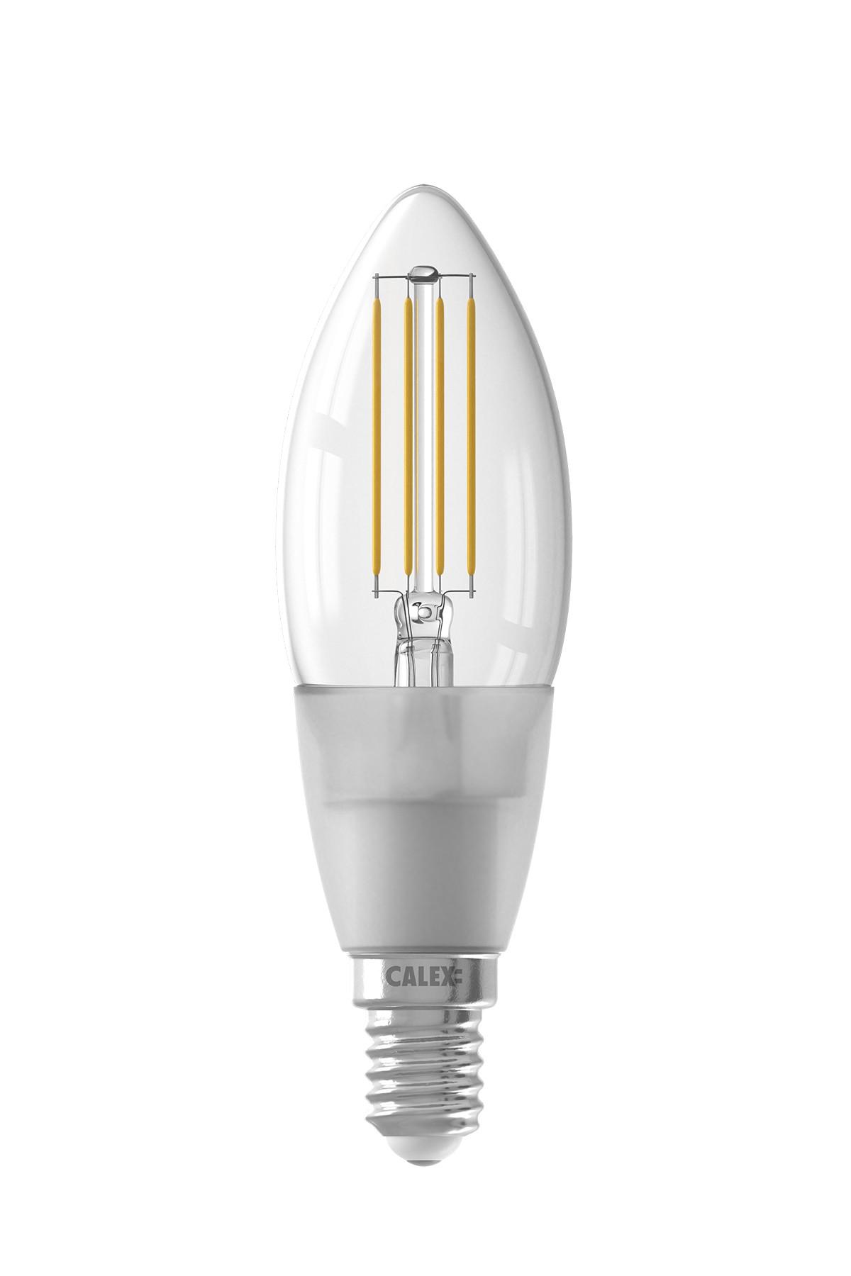 Calex Smart Kaars led lamp 4,5W 450lm 1800-3000K