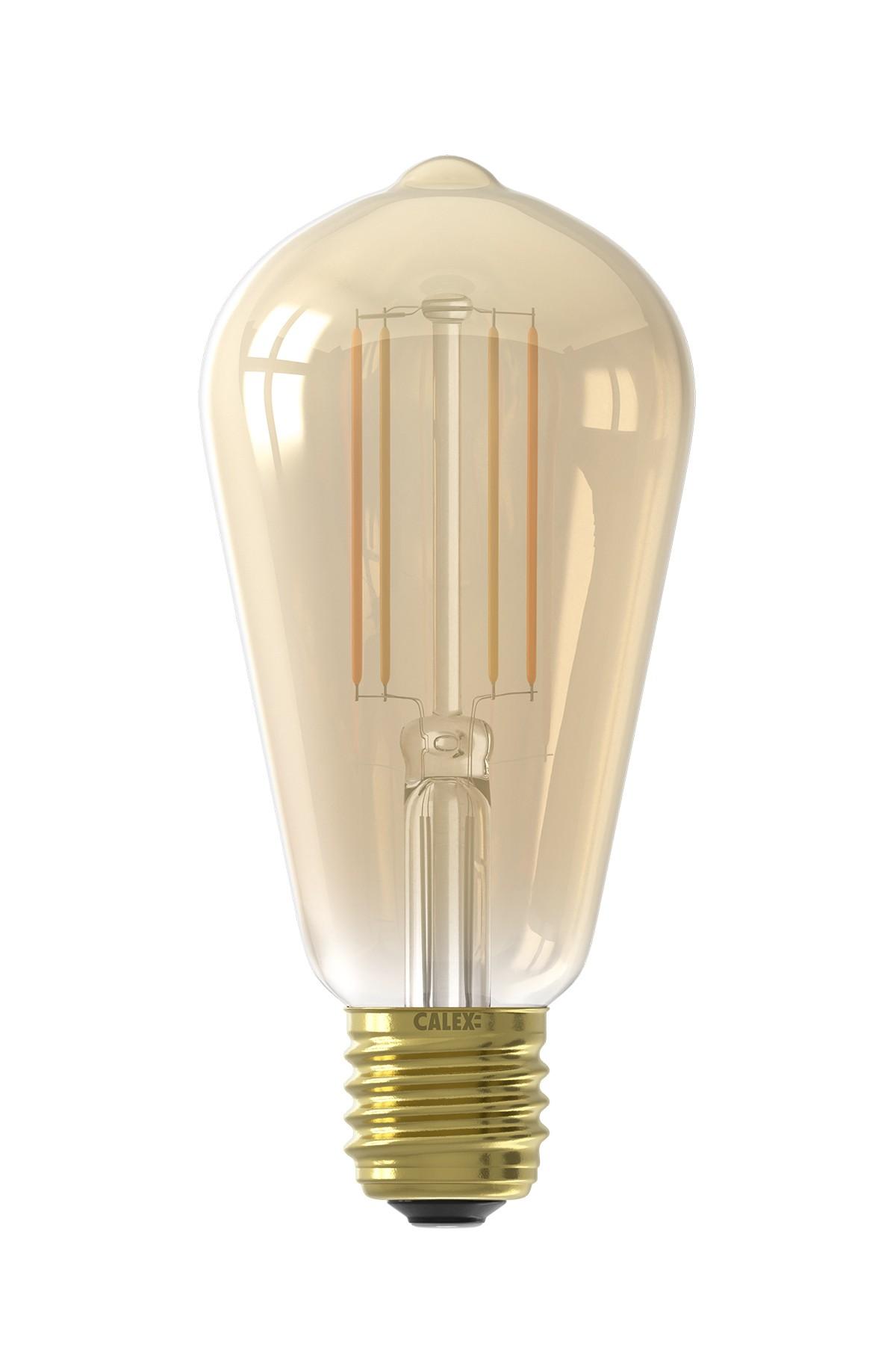 Calex Smart Rustiek led lamp 7W 806lm 1800-3000K
