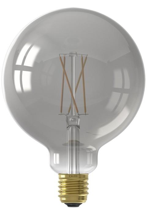 Smart Globe G125 Smokey led lamp 7W 400lm 1800-3000K