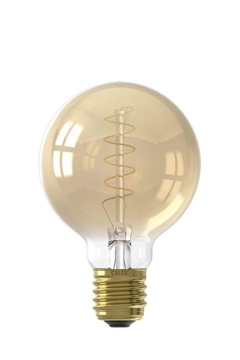 Globe G80 LED lamp 4W 200lm 2100K Dimbaar