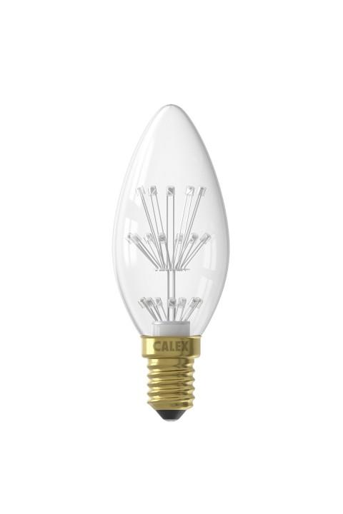 Pearl LED kaarslamp 240V 1W
