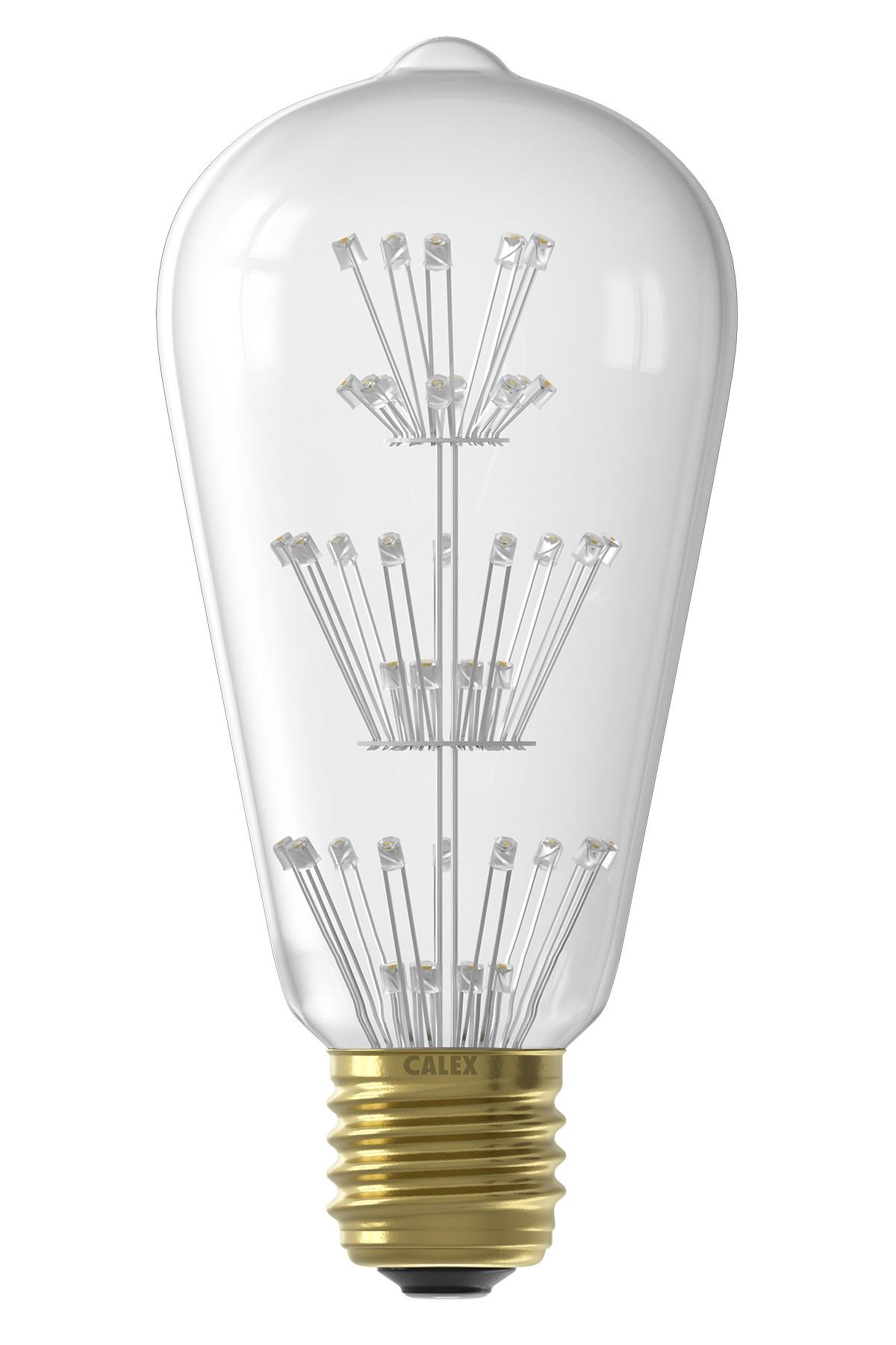 Pearl LED rustieke lamp 240V 3W
