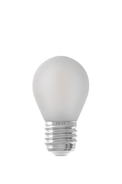 Calex LED volglas Filament Kogellamp 220-240V 3,5W 300lm E27 P45, Mat buitenkant 2700K CRI80 Dimbaar