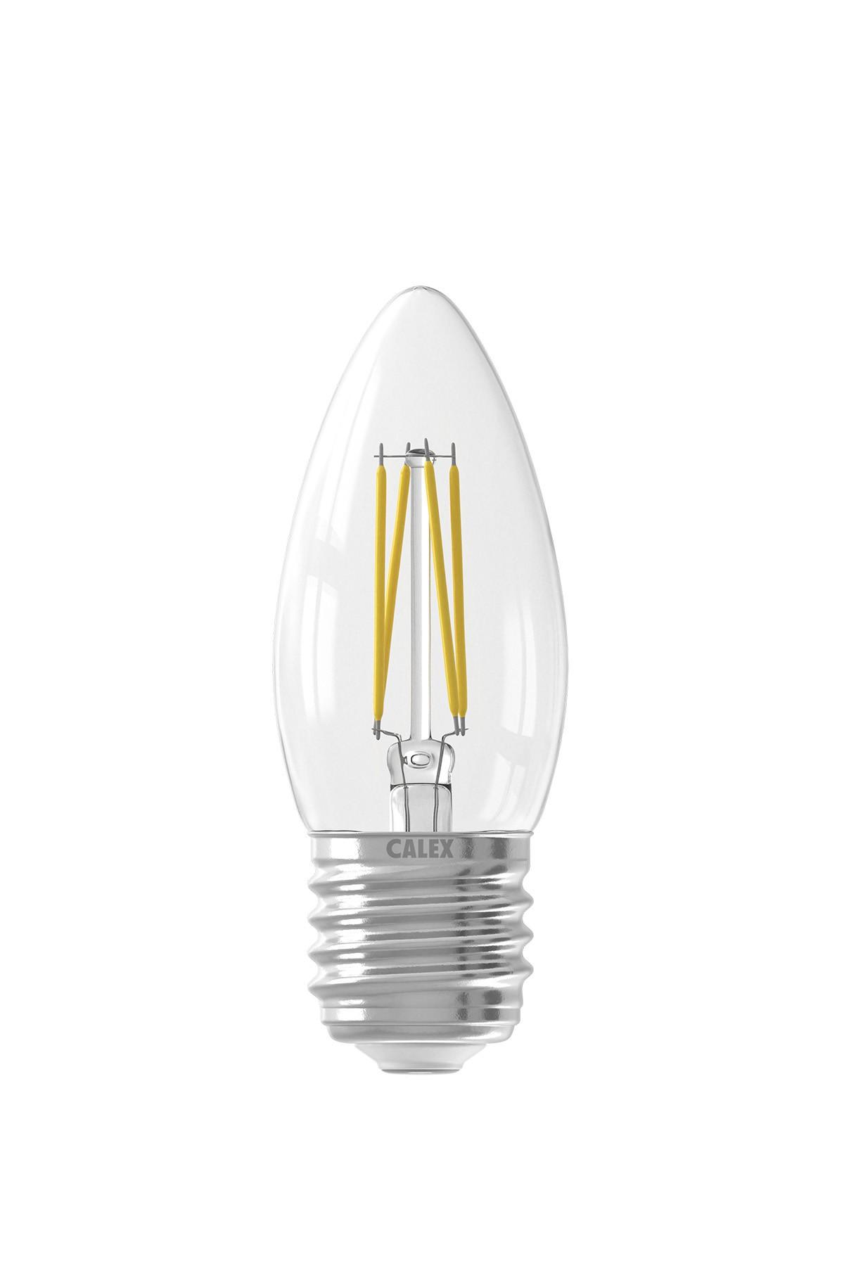 Filament LED Dimbare Kaarslamp 240V 3,5W E27