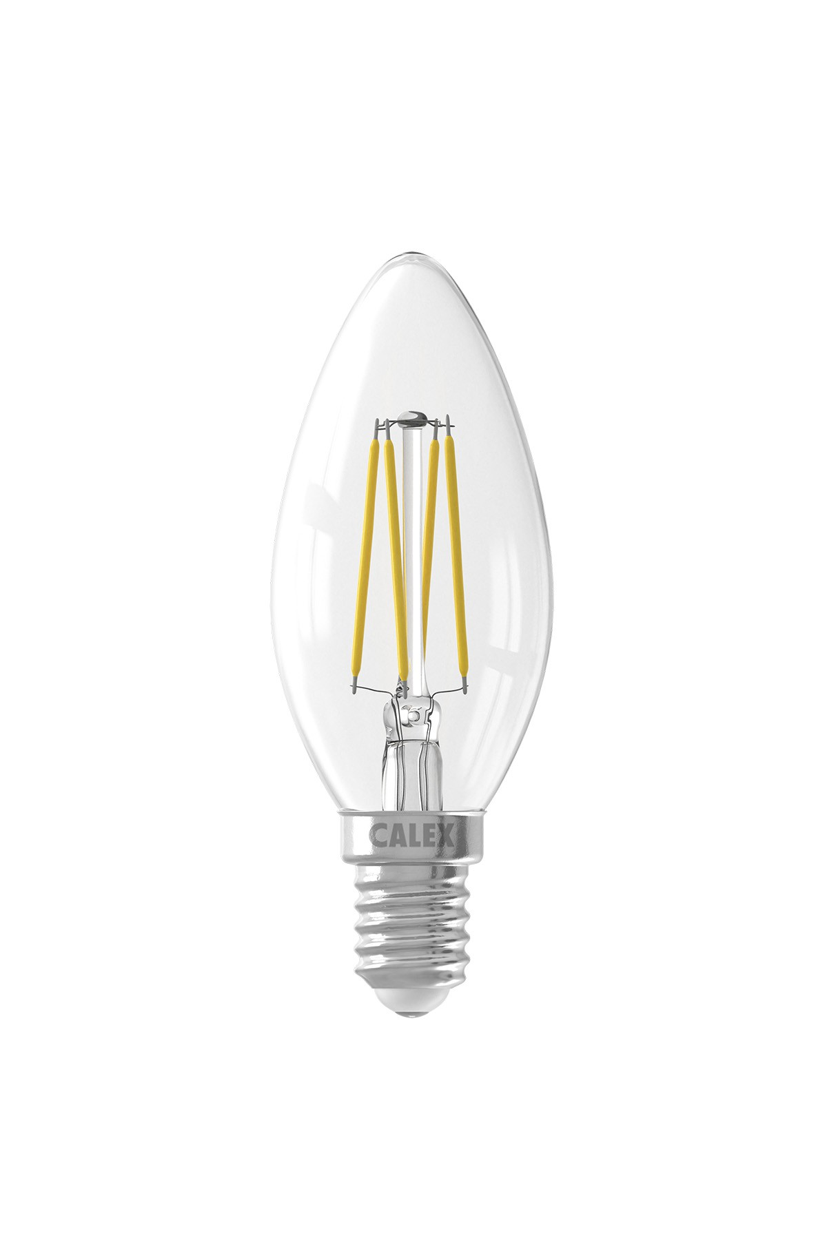 Filament LED kaarslamp dimbaar 240V 4W