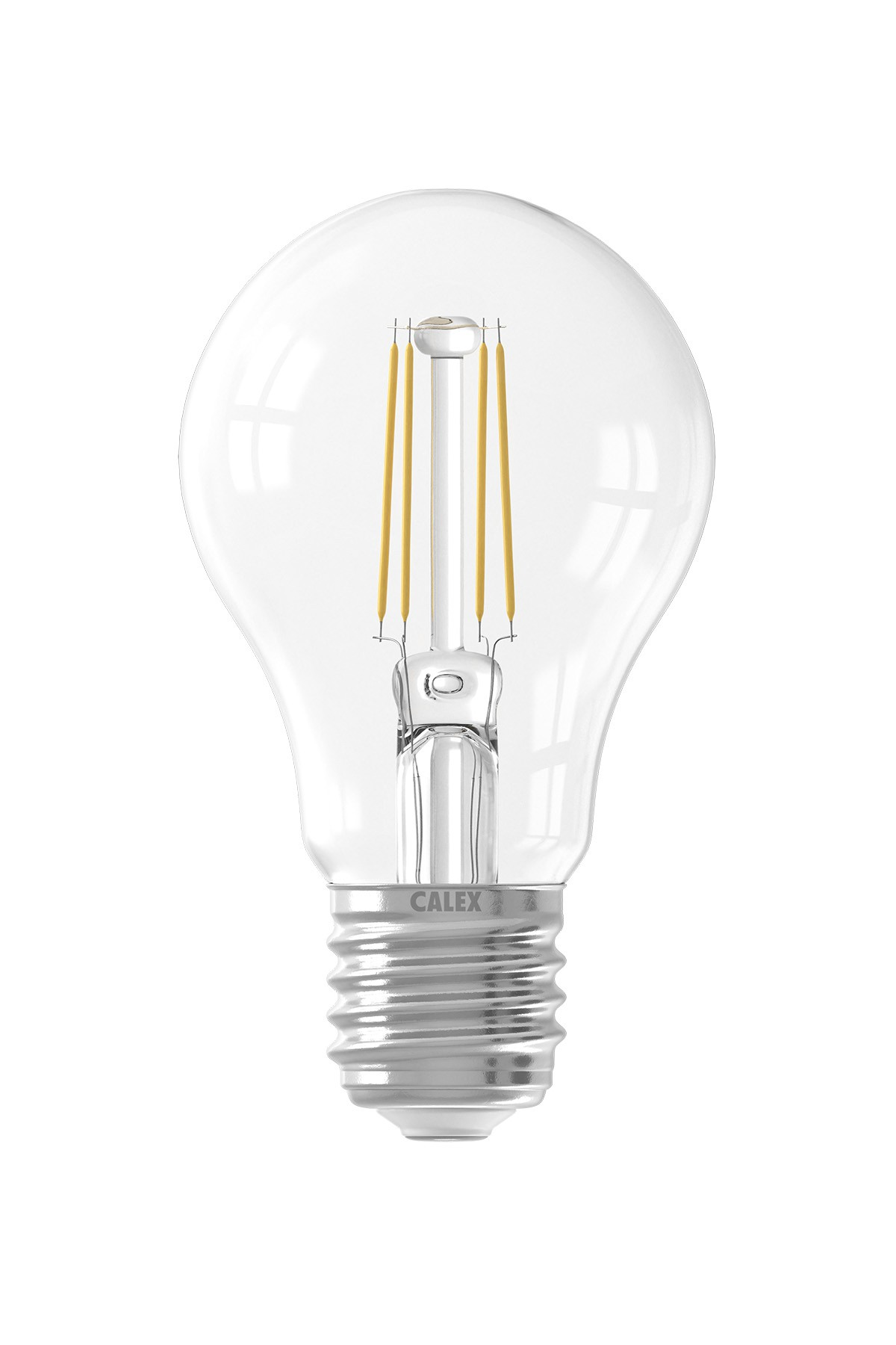 Calex LED Full Glass Filament GLS-lamp  220-240V 7W 810lm E27 A60, Clear 2700K CRI80 Dimmable