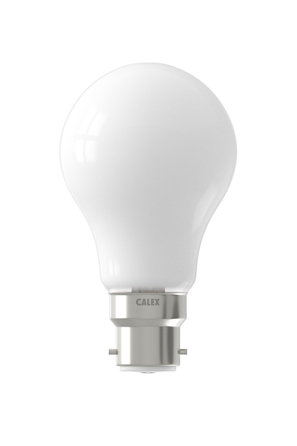 Calex LED volglas Filament Standaardlamp  220-240V 7W 810lm B22 A60, Softline 2700K CRI80 Dimbaar