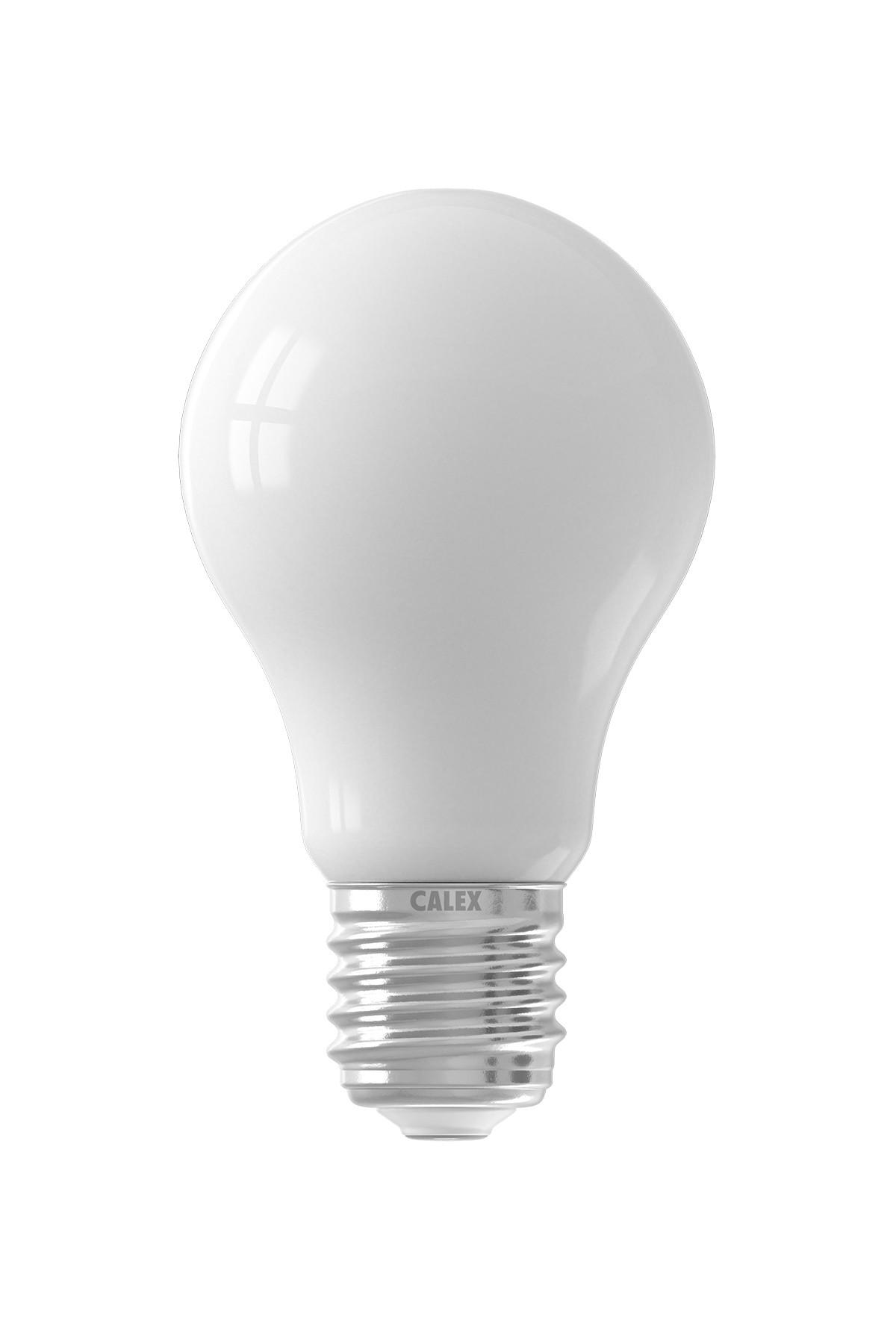 Calex LED volglas Filament Standaardlamp 240V 8W 1000lm E27 A67, Softline 2700K CRI80 dimbaar
