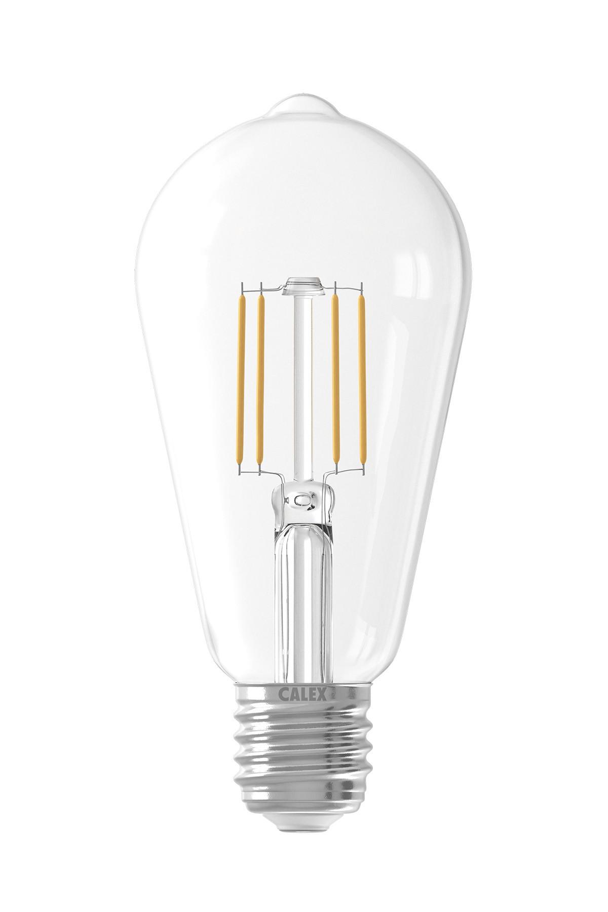 Filament Led Rustic Lamp 240v 6w E27 Calex