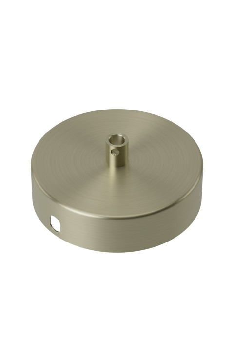 Calex metal ceiling rose 100mm 1 hole, matt bronze