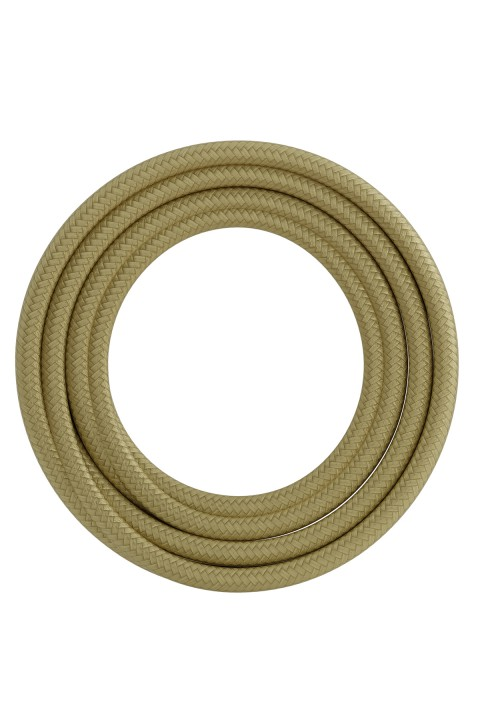 Calex textiel omwikkelde kabel 2x0,75mm2 1,5M goud, max.250V-60W