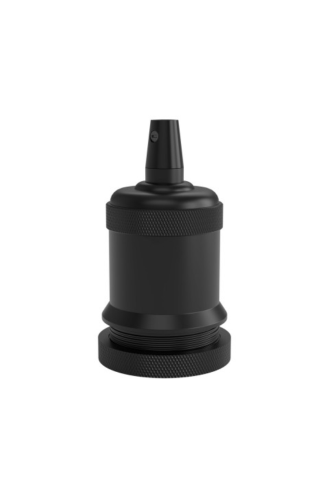 Creations Lamphouder E27 Black Bell